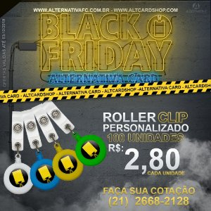 Roller Clip Personalizado - BLACK FRIDAY 2019