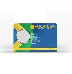 Carteirinha Escolar em PVC 0,76mm 4/4