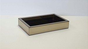 Bandeja Caixa Bronze 35x25x6