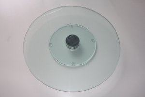 Prato giratório 80cm