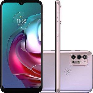Smartphone Motorola G30 128GB  XT2129 Branco Lilás