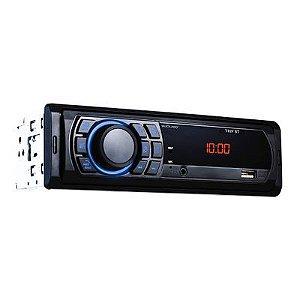 Auto Rádio P3344 Multilaser Bluetooth USB FM+AUX