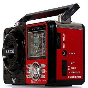 Rádio Portátil Song Star SS-1088RU 9 Faixas 5W