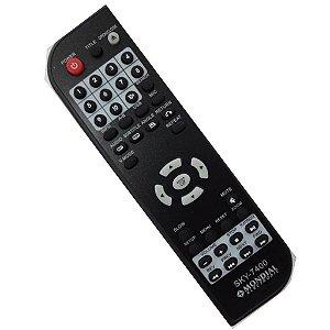 Controle Remoto para DVD Mondial SKY-7400 Sky