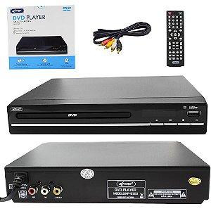 Aparelho de DVD KP-D120 KNUP Com USB