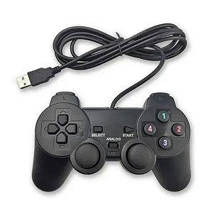 Controle com Fio USB 2.0 Jeqt Preto