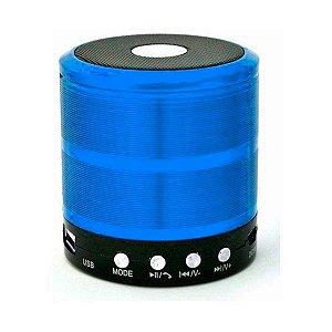 Midi Box Mini Speaker WS-887 Azul 5W