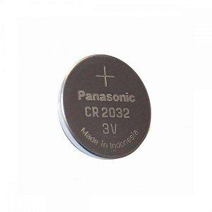 Pilha Botão Panasonic Lithium CR2032 3V Unidade