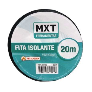 Fita Isolante PVC 0.15MM X 19MM X 20M MXT