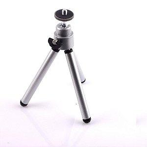 Mini Tripé para Celular e Camera 15cm