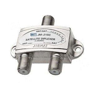 Chave Diseqc 1X2 JM-21SC MXT LNB-A/B 5.7.20