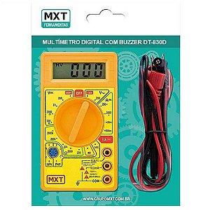 Multímetro Digital com Buzzer MXT DT-830D AM