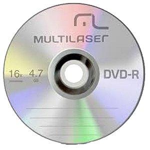 DVD-R DV061 Multilaser 4.7GB (Unidade)