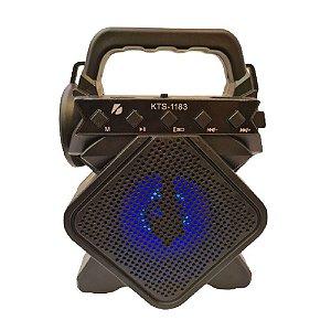 Caixa de Som Flex com Bluetooth KTS-1183 5W Preta