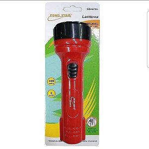 Lanterna Recarregável Song Star SS-6705 Vermelha