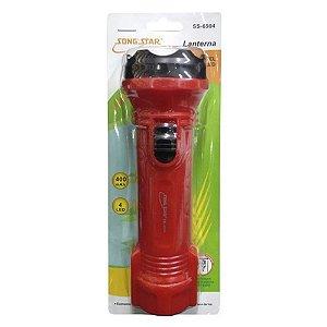 Lanterna Recarregável Song Star SS-6504 Vermelha