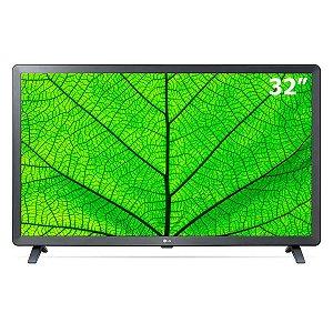 """Smart TV Led 32"""" LG 32LM627BPSB Preta"""