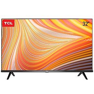 """Smart TV Led 32"""" TCL 32S615 Preta"""