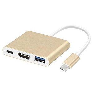 Adaptador Tipo C HDTV USB3.0 LE-5573 IT.Blue
