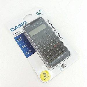 Calculadora Científica Casio FX-82MS Preta