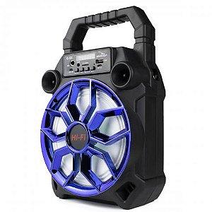 Caixa de Som Portátil Grasep Bluetooth D-S8 Azul