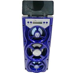 Caixa de Som Portátil Grasep D-BH2059 Azul