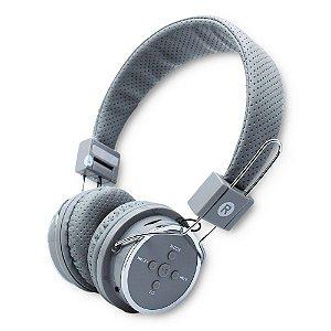 Fone de Ouvido Headset Knup Kp-367 Bt Cinza