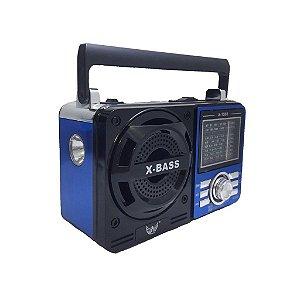 Rádio Portátil Altomex A-1088 FM/AM/SW1-7 Azul