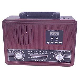 Rádio Portátil Altomex AD-6085 FM/AM/SW Vinho