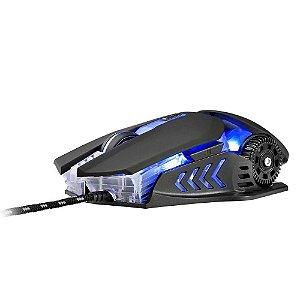 Mouse Gamer Multilaser Warrior M0267 3200DPI Preto