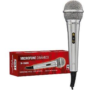 Microfone MXT com Cabo M-1800S  54.1.102