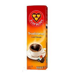 Cápsula Tradicional de Café Filtrado Três Corações