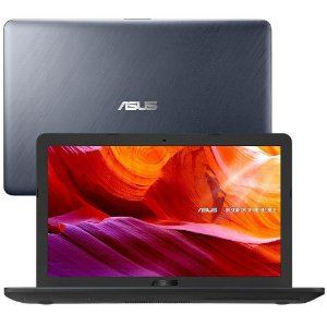 Notebook Asus Core I3 X543UA GQ3430T 256GB Cinza.