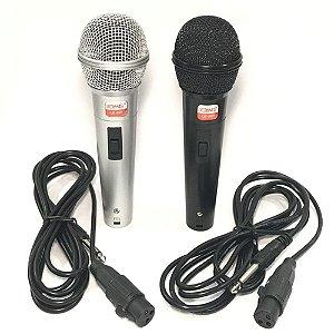 Microfone Dinâmico com cabo Lelong LE-901