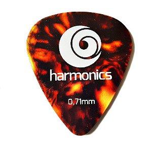 Palheta Harmonics 0,71mm Marrom
