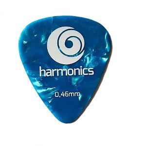 Palheta Harmonics 0,46mm Azul