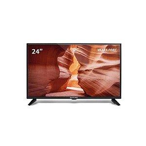 """TV HD Multilaser com Conversor TL016 24"""""""
