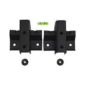 """Suporte FIXO UNIVERSAL para TV LED, LCD, Plasma, 3D e Smart TV de 10"""" a 85"""" – Brasforma SBRU 758"""