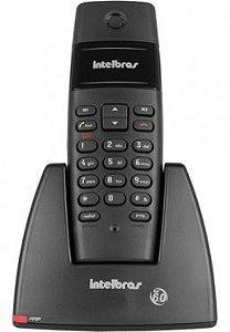 Telefone Intelbras TS40 s/ Fio Preto