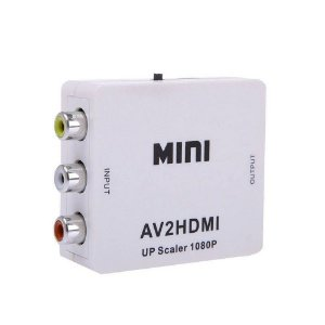 Conversor RCA p/ HDMI - Não Acompanha Cabo