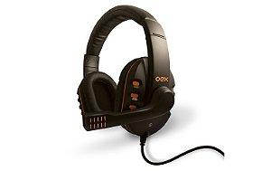 Fone Gamer OEX HS200 Action Preto/Laranja