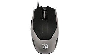 Mouse Gamer OEX MS311 Blaze Preto/Cinza