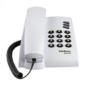 Telefone Intelbras Pleno c/ Fio Cinza Artico