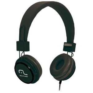 Fone de Ouvido Multilaser PH115 Headphone Preto P2