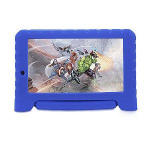 Tablet Multilaser Disney Vingadores NB280 1GB Ram 8GB Azul