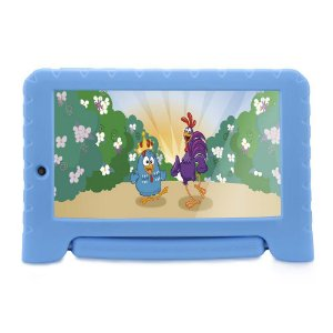 Tablet Multilaser Galinha Pintadinha NB282 1GB Ram 8GB Azul
