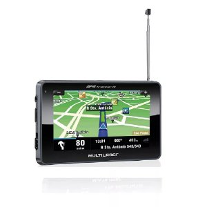 Gps Multilaser GP034 Tracker III 4,3'' c/ TV Digital e Rádio FM