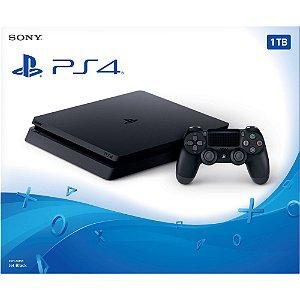 Console Playstation IV Slim CUH-2115B 1 TB s/ jogo