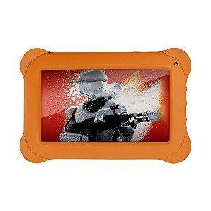 "Tablet Multilaser Disney Star Wars 7"" NB238 512Mb Ram 8GB Laranja"