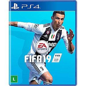 Jogo Fifa 19 PS4